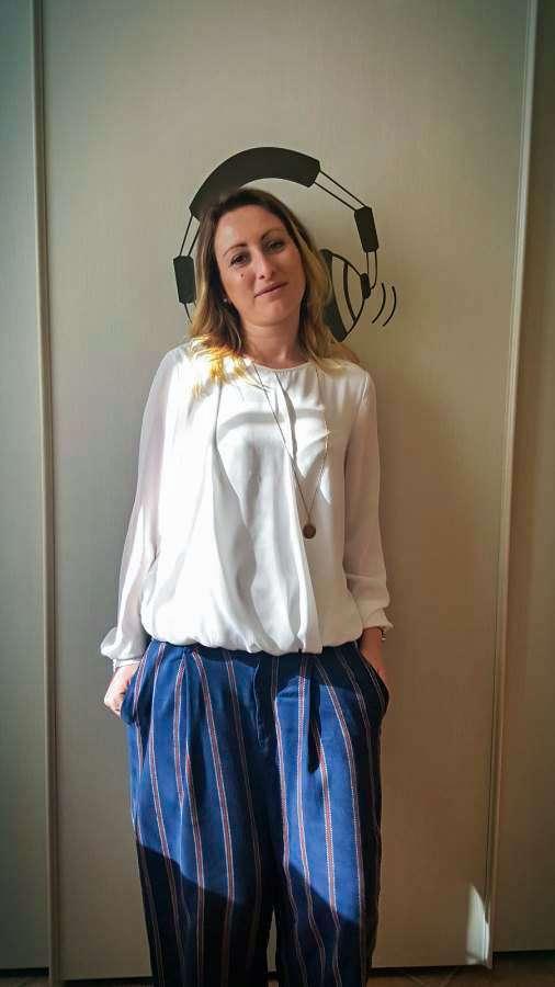 pantalone pigiama palazzo