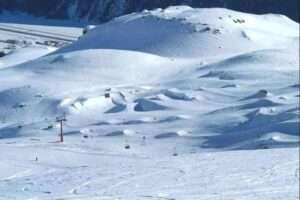 St moritz pista da sci