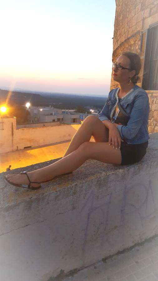 my outfit in ostuni