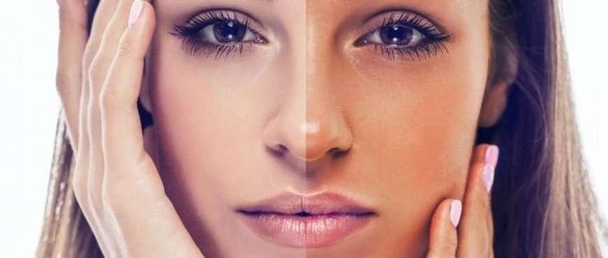 abbronzatura viso