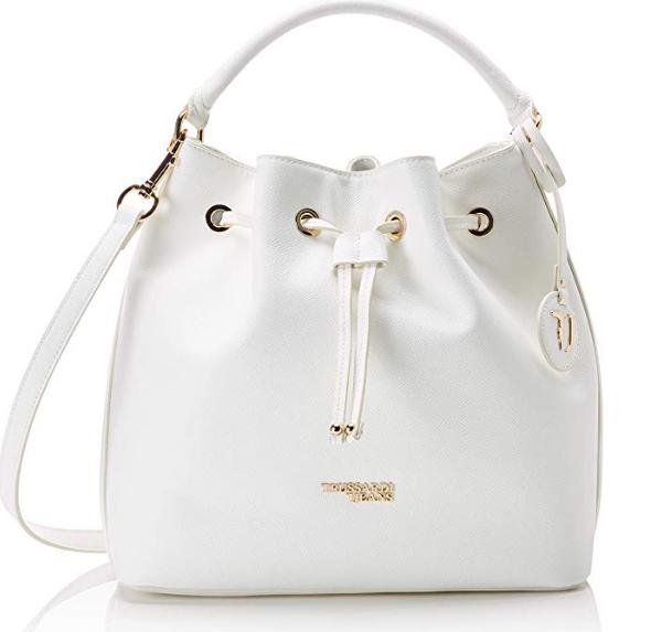 borsa secchiello bianca