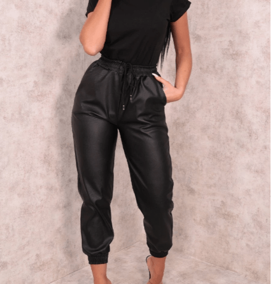 pantalone della tuta nero
